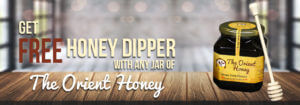 Free Dipper with Sidr Honey