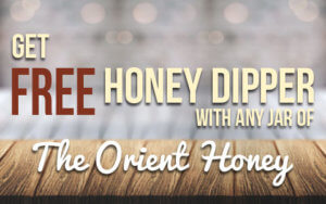 Free Honey Dipper The Orient