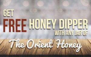 Free Honey Dipper The Orient