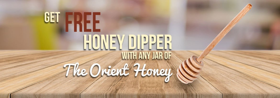 Free honey dipper with any jar