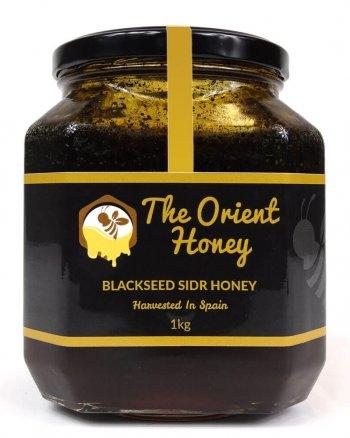 Sidr black seed honey 1kg