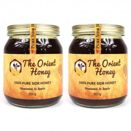 The Orient Sidr Honey 2 x 500g
